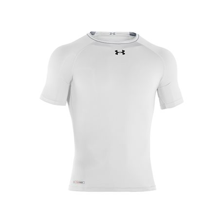 Under Armour HeatGear Sonic Compression SS T White-Black
