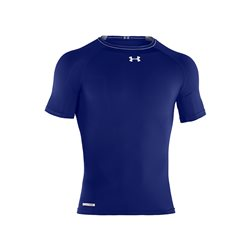 Under Armour HeatGear Sonic Compression SS T Royal-White