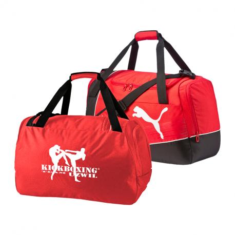 Kickboxing Team Uzwil Tasche mit Clublogo - Rot