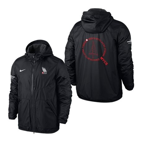 MYCS NIKE Team FALL-JACKET mit Kapuze - Black