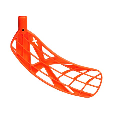 EXEL Unihockey Schaufel X-Blade soft - neon orange