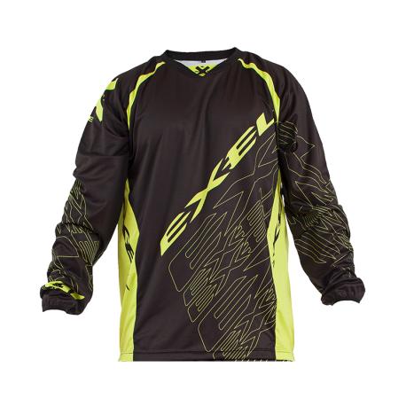 EXEL Torhütershirt G1 - schwarz/gelb