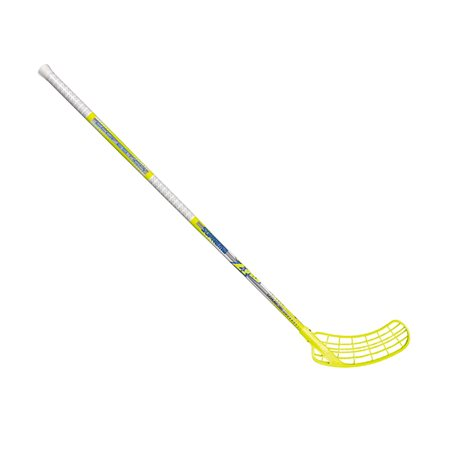 ZONE Unihockeystock SUPERME Curve 1.0° 27 - schwarz/blau