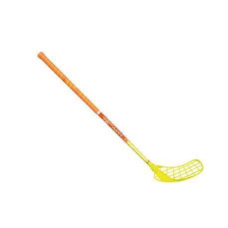 ZONE Unihockeystock HYPER AIR Superlight Curve 1.5° 31 - Orange Gelb