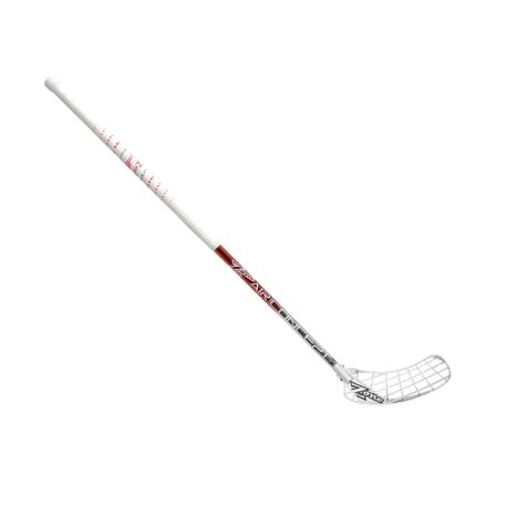ZONE Unihockeystock HYPER AIR Superlight 27 - Rot/Chrome