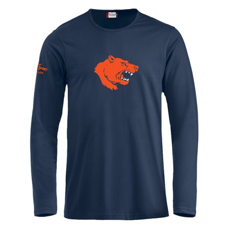St.Gallen Bears T-Shirt langarm mit Clublogo gross