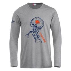 St.Gallen Bears T-Shirt langarm mit Helm + Clublogo klein