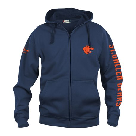 St.Gallen Bears - Clique BASIC Hoody Full Zip - Herren