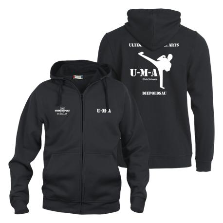 UMA NewWave BASIC Hoody Full-Zip - Herren