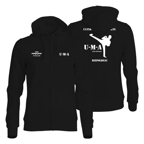 UMA NewWave BASIC Hoody Full-Zip - Damen
