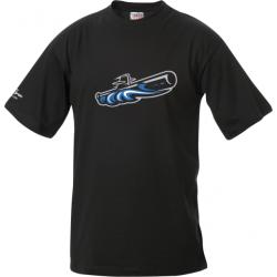 Baseballclub Romanshorn Submarines T-Shirt mit U-Boot - Kinder