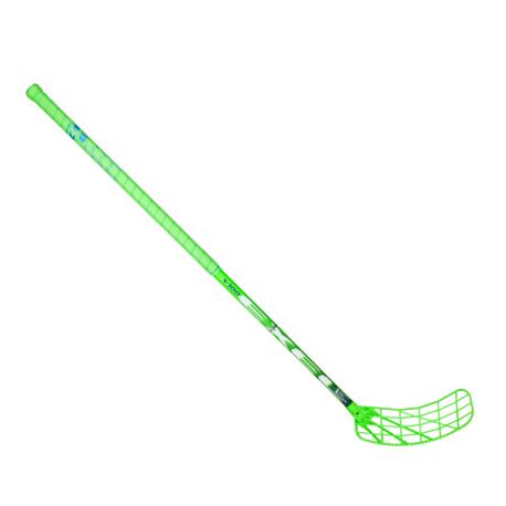 EXEL Unihockey Stick V100 2.9 92 Round MB - Green