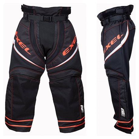 EXEL Goalie Pant S100 - Black-Orange