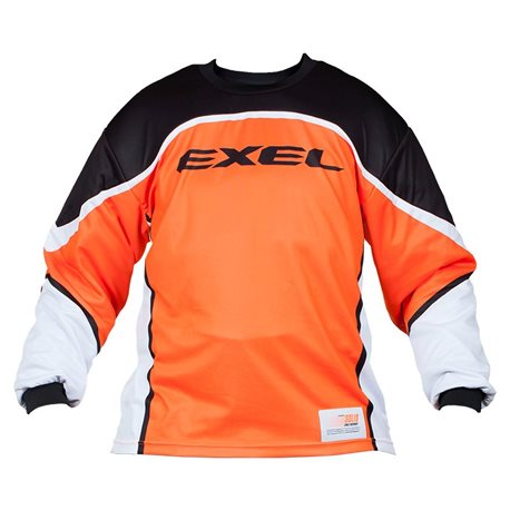 EXEL Goalie Jersey S100 - Orange-Black - Erwachsene