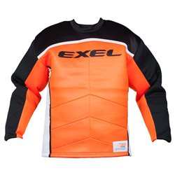EXEL Goalie Jersey S60 - Black-Orange - Kinder