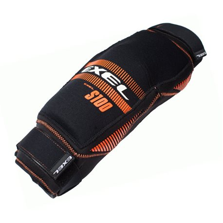 EXEL Kneeguard S100 - Black-Orange - Senior