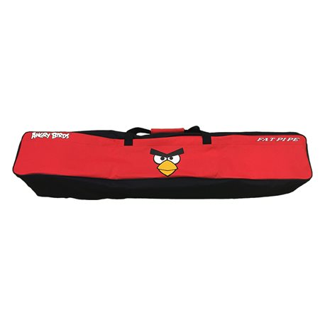 FAT PIPE Angry Birds Big Stick Bag - Black | Red