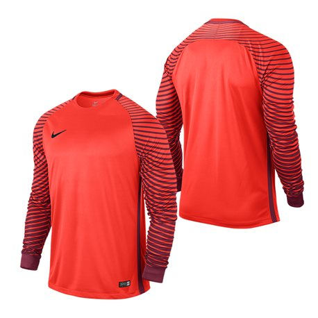 NIKE Gardien Trikot langarm - Orange / Kinder