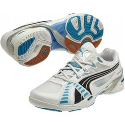 Puma Accelerate VI white-black-fluo blue woman