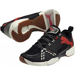 PUMA Vindicate black-high risk red-white