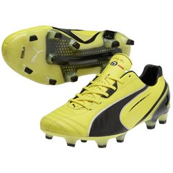 PUMA King Finale Superlight FG Gelb/Schwarz
