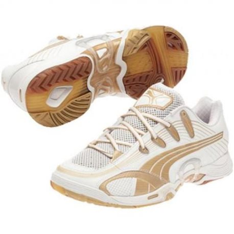 Puma Accelerate V white-gold woman