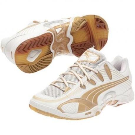 Puma Accelerate V white-gold woman