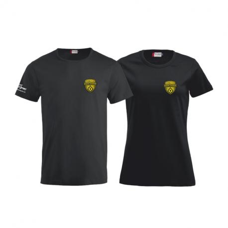 Freizeit Fashion T-Shirt mit gewobenem Logo