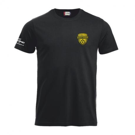 Kinder Freizeit T-Shirt mit gewobenem Logo