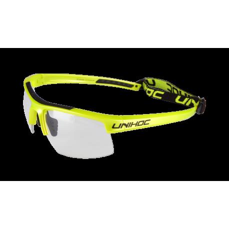 UNIHOC Unihockeybrille ENERGY JR - lime