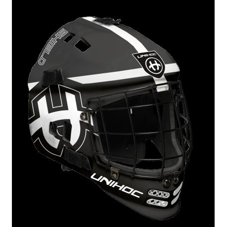 UNHOC Goalimaske Shield - schwarz