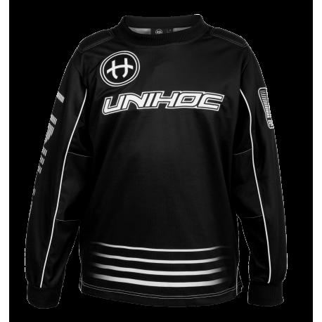 UNIHOC Goali Sweater INFERNO - schwarz
