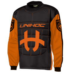 UNIHOC Goali Sweater SHIELD - orangeschwarz
