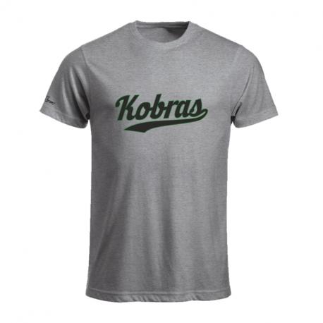 Kobra T-Shirt mit schwarz/grünen Schriftzug