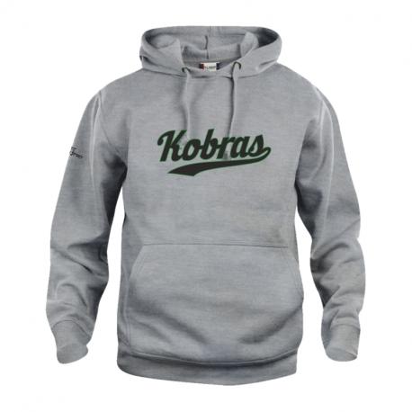 Kobra Pullover mit schwarz/grünem Schriftzug