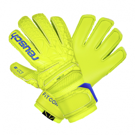 Reusch Fit Control Pro G3 Junior lime/blue