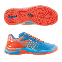 Kempa Attack One 2.0 Junior Hallenschuhe kempablau/rot