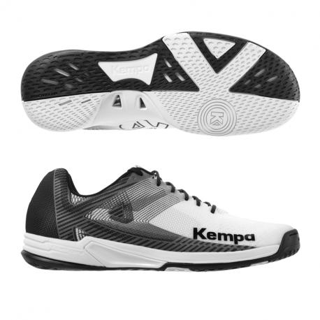 Kempa Wing 2.0 Hallenschuhe weiss/schwarz