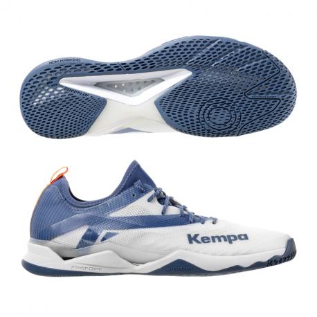 Kempa Wing Lite 2.0 weiss/steel blau
