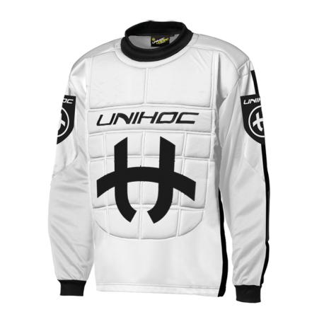 UNIHOC Goali Sweater SHIELD - orangeschwarz