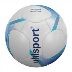 Uhlsport Motion Synergy Trainingsball weiss/deep blue/cyan